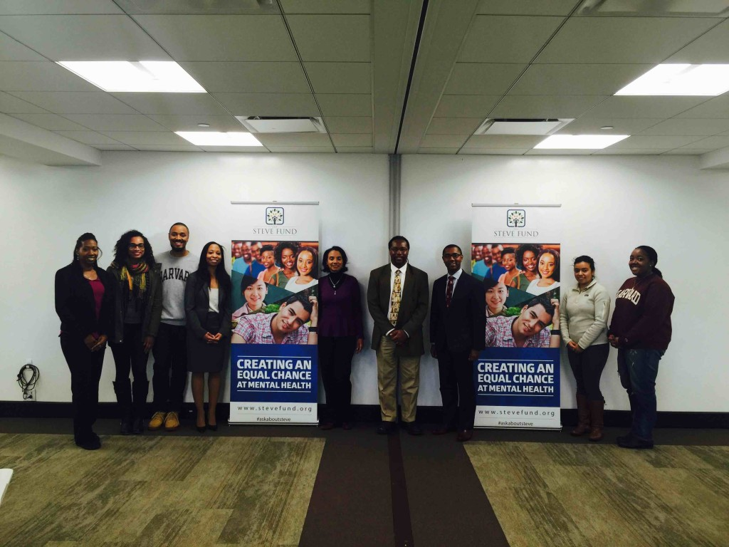 Attendees at the Nov 14 event at Harvard. More than 60 people came to the event to participate in a lively discussion.