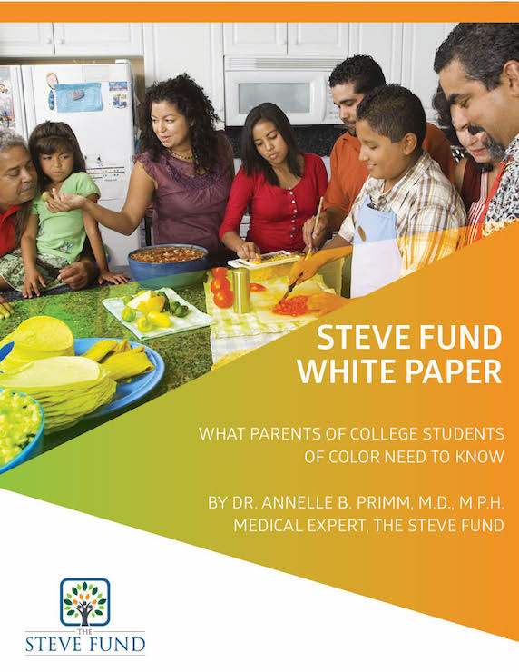 Steve Fund parents guide