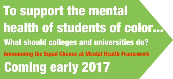 Announcing the Equal Chance at Mental Health Framework