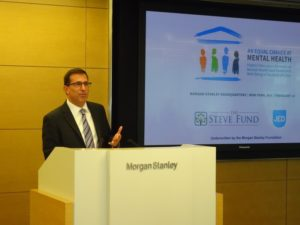 Jeffrey Brodsky, Chief Human Resources Officer, Morgan Stanley, welcomes attendees